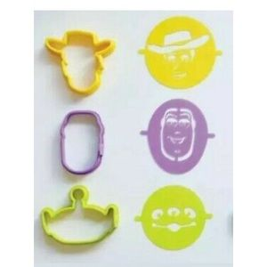Pampered Chef Toy Story Pancake Molds & Stencils